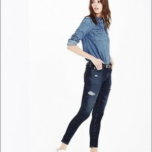 AG Adriano Goldachmied 8yr whistler ankle jean 28